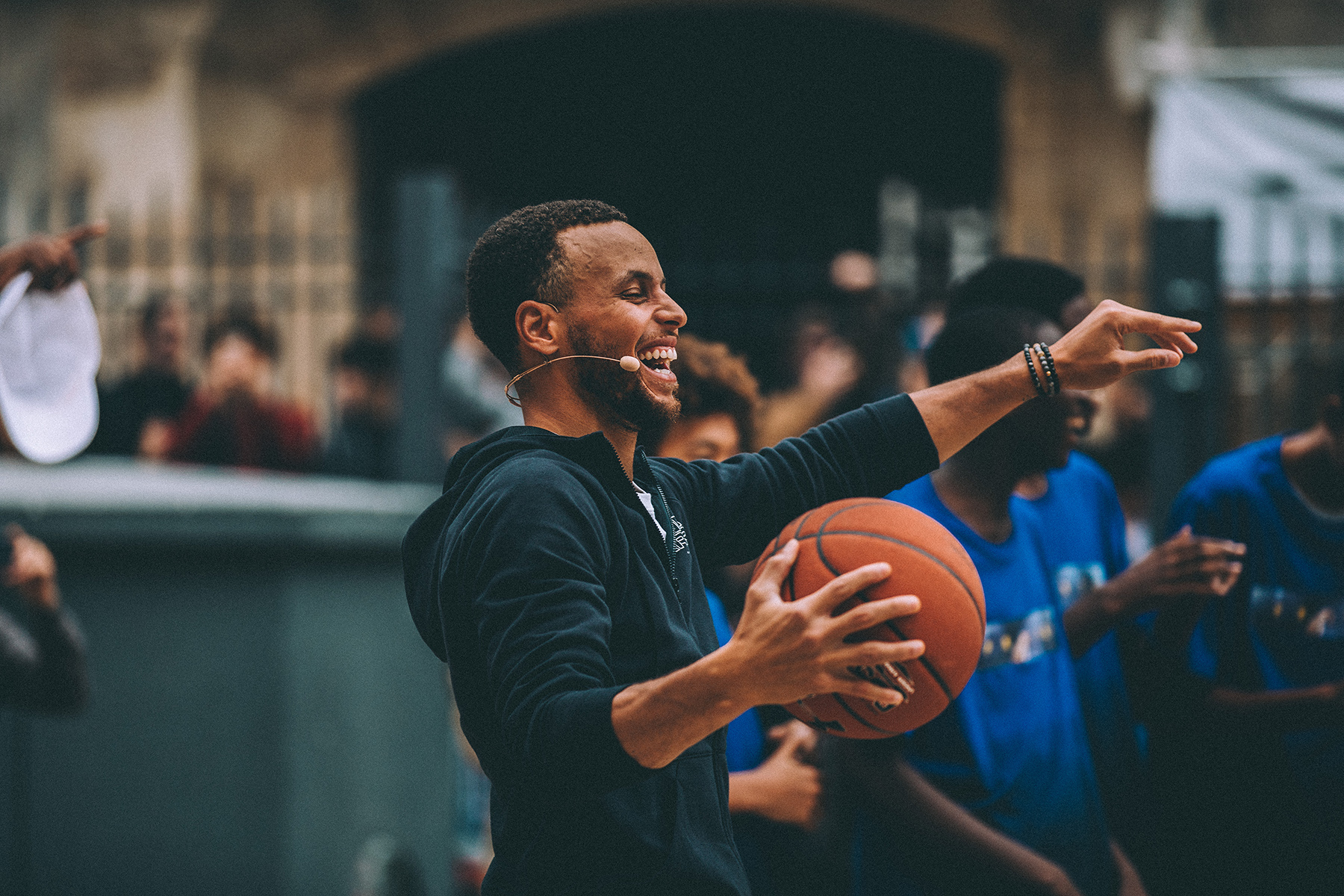 Photo Stephen Curry Under Armour Paris